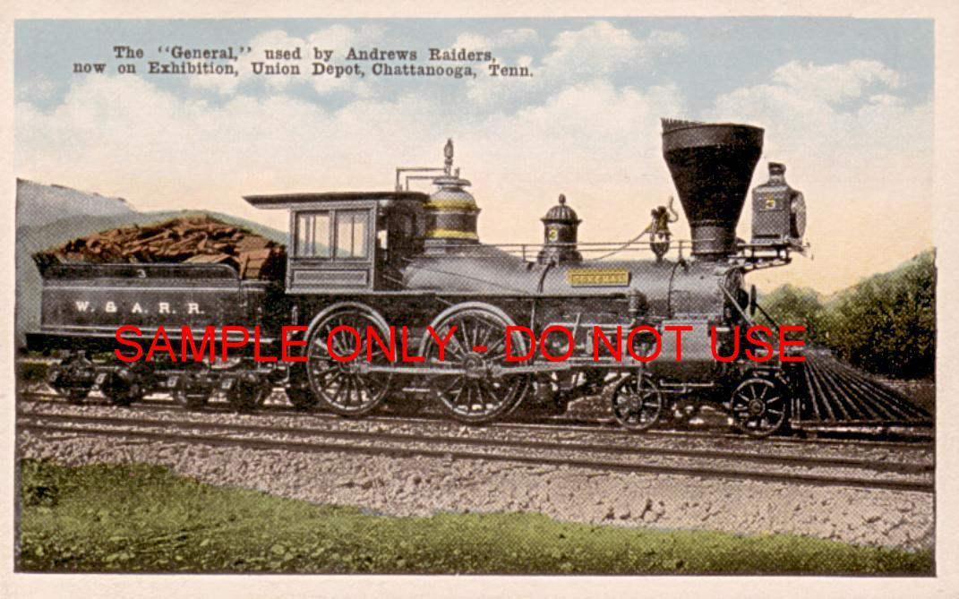 The General -Civil War Train