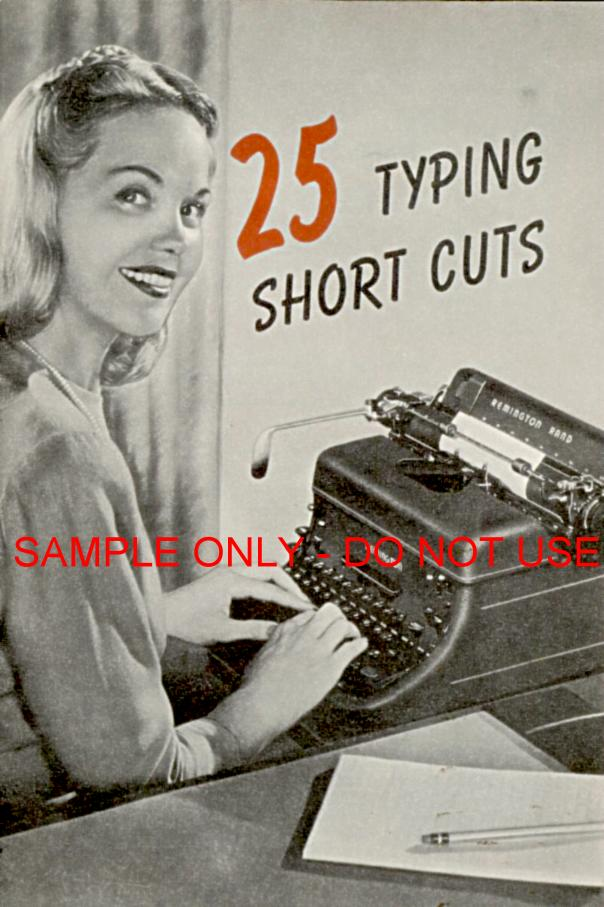 25 Typewriting Tips