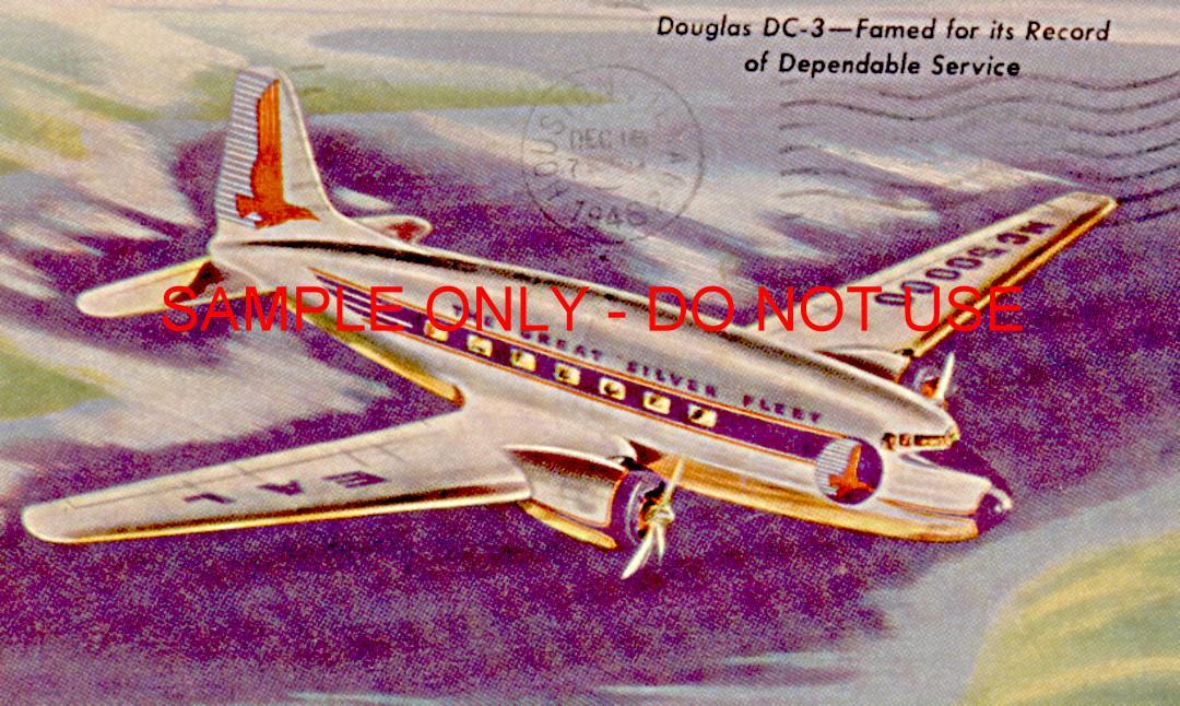 dc3 in flight