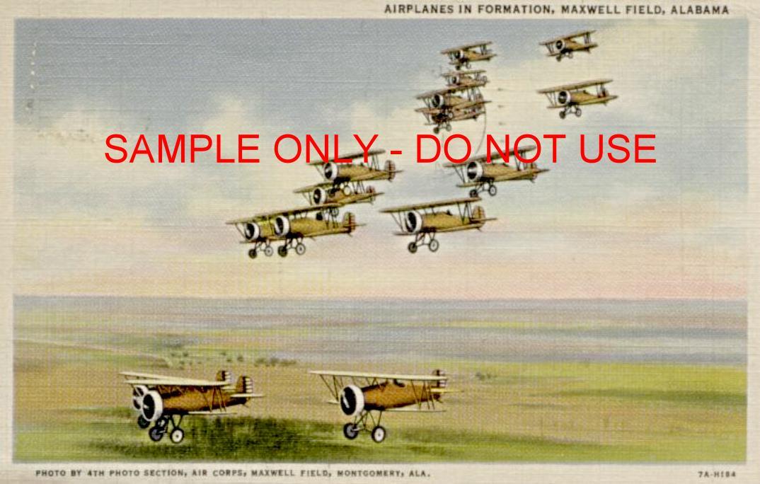 WW1 BiPlane Squadron
