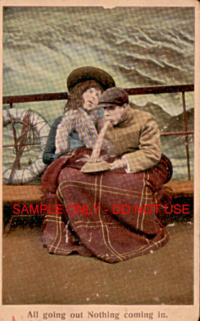 SeaSick and Puking 1910