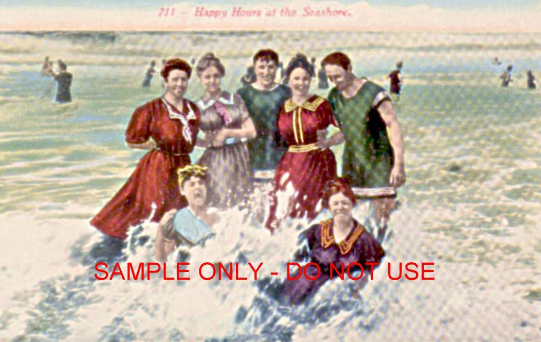 Fun at The Beach 1910