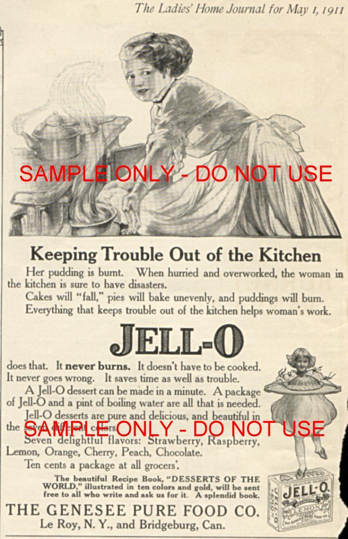Jell-O Ad 1911