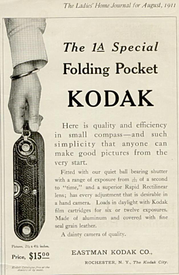 Kodak Folding Camera 1914